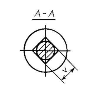 ГОСТ 7802-81 Болты с увеличенной полукруглой головкой и квадратным подголовком класса точности С.