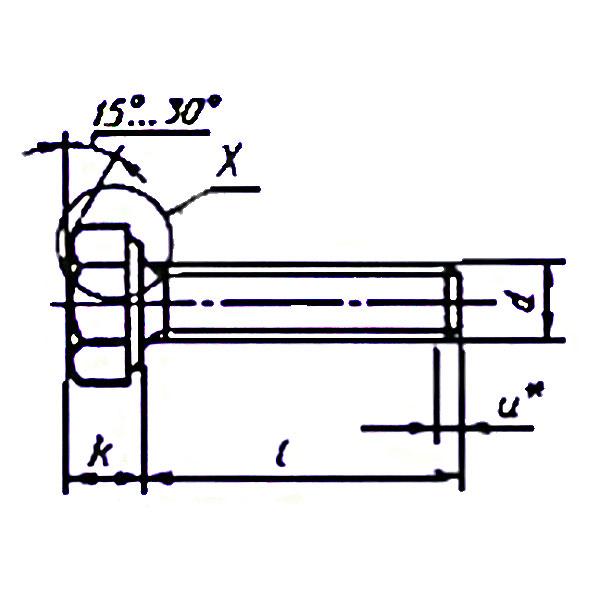 ГОСТ Р ИСО 50793-95 (не действующий) Болты с шестигранной головкой с резьбой до головки.