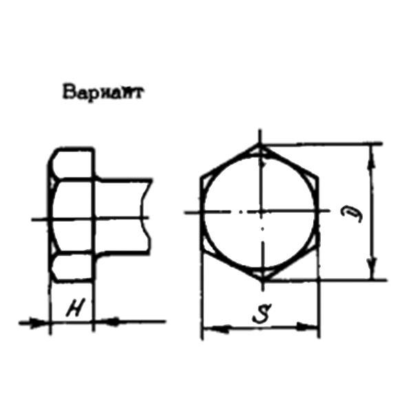 ОСТ 1 31103-80 Болт с шестигранной головкой. Взамен 3003А.