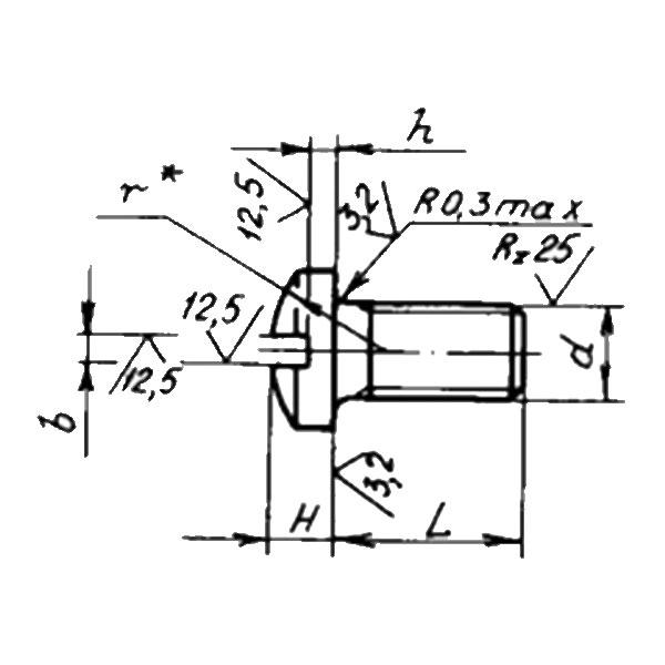 ОСТ 1 31571-80 Винты для крепления циферблатов. Взамен нормали 3215А ант.