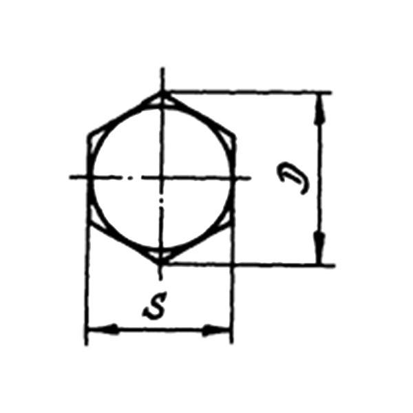 с полем допуска диаметра стержня f9