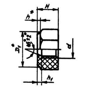 ОСТ 1 10784-72 Гайки самоконтрящиеся шестигранные из поликарбоната.