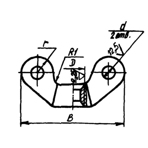 ОСТ 1 11491-74 Гайки-барашки. Взамен нормали 1414С49.