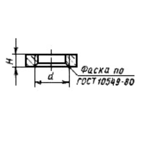 ГОСТ 8968-75 Части соединительные стальные с цилиндрической резьбой для трубопроводов Р=1