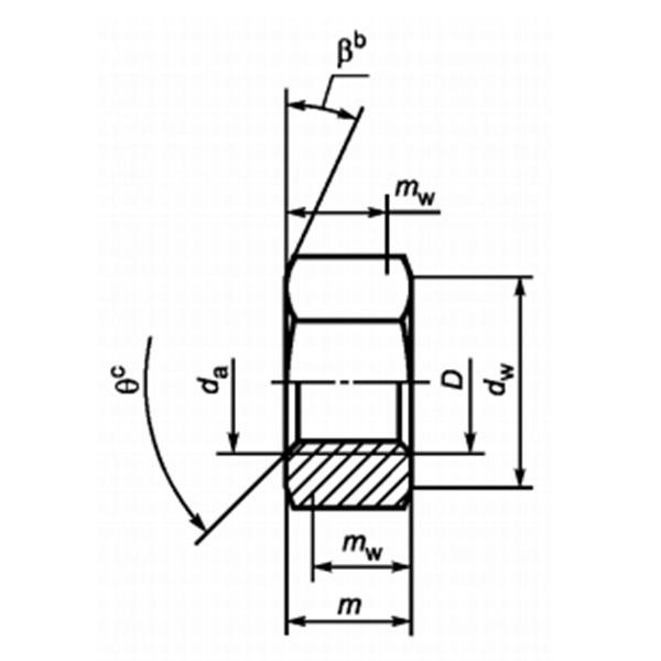 ГОСТ Р ISO 4032-2014 Гайки шестигранные нормальные (ТИП 1). Классы точности А и В. (На оформлении).