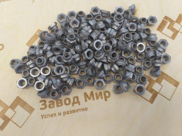 ОСТ 1 33060-80 Гайки шестигранные низкие самоконтрящиеся. Взамен нормали 5975А.