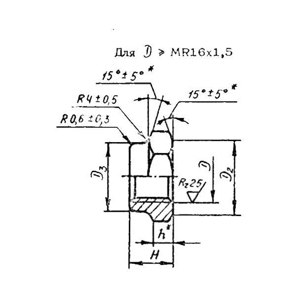 ОСТ 1 33204-89 Гайки шестигранные высокие.