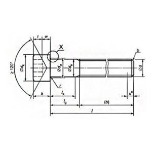 ГОСТ Р ИСО 12474-2012 Винты с цилиндрической головкой и шестигранным углублением под ключ с мелким шагом резьбы.