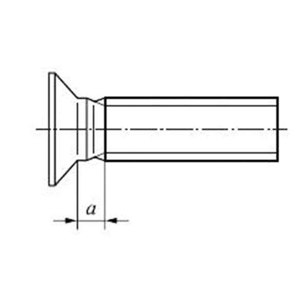 ГОСТ Р ИСО 7046-2-2013 Винты с потайной головкой и крестообразным шлицем типа Н или типа Z. Класс точности А. Часть 2.