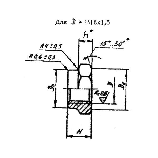 ОСТ 1 33023-80 Гайки шестигранные высокие. Взамен нормали 3306А.