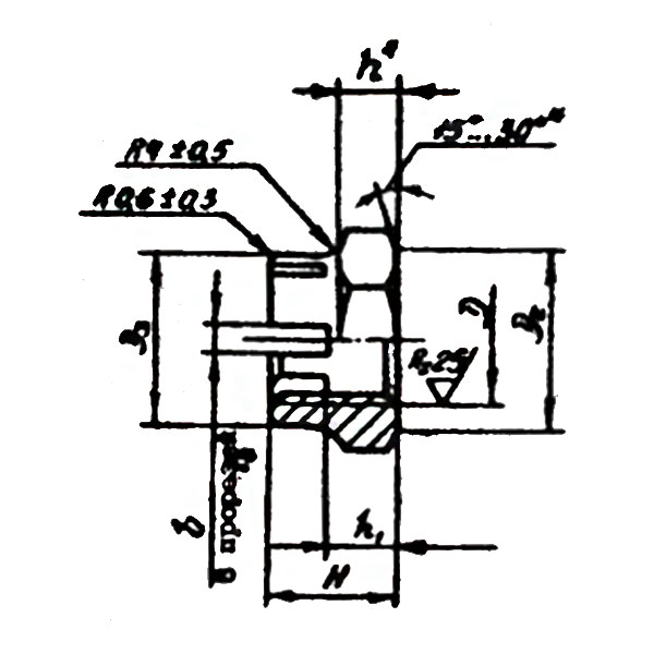 ОСТ 1 33042-80 Гайки шестигранные корончатые высокие. Взамен нормали 3336А.