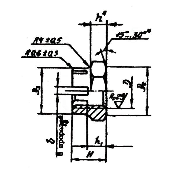 ОСТ 1 33044-80 Гайки шестигранные корончатые высокие.