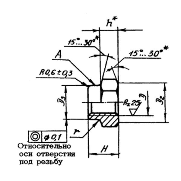 ОСТ 1 33055-80 Гайки шестигранные высокие самоконтрящиеся. Взамен нормали 3373А.