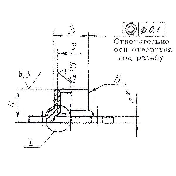ОСТ 1 33079-80 Гайки угловые самоконтрящиеся. Взамен нормали 6411А.