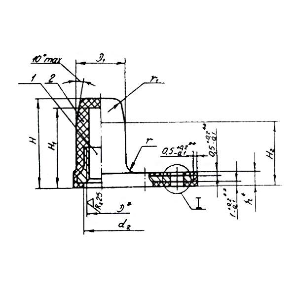 ОСТ 1 33081-80 Гайки одноушковые самоконтрящиеся герметтичные. Взамен нормали 3297А.