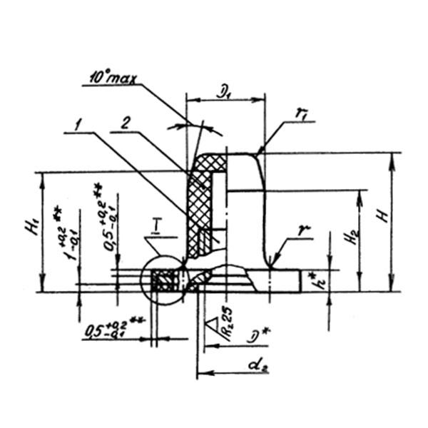 ОСТ 1 33082-80 Гайки угловые самоконтрящиеся герметичные. Взамен нормали 3299А.