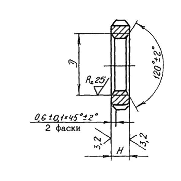 ОСТ 1 33094-80 Гайки круглые с осевыми прорезями. Взамен нормали 208М54А.