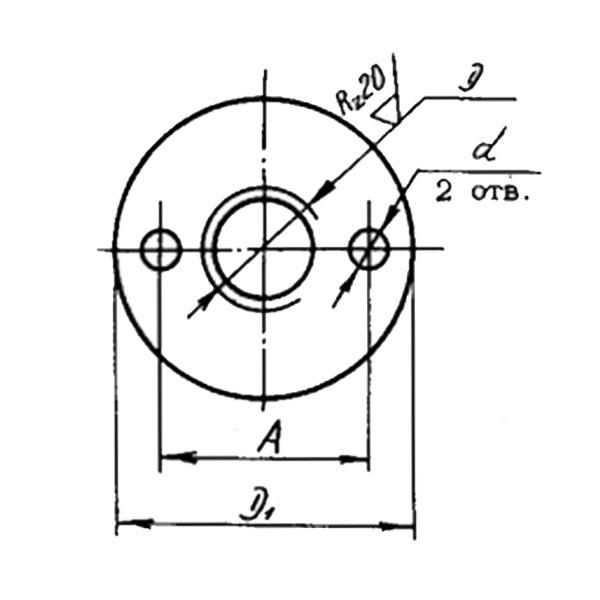 ОСТ 1 33097-80 Гайки сферические. Взамен нормали 3284А.