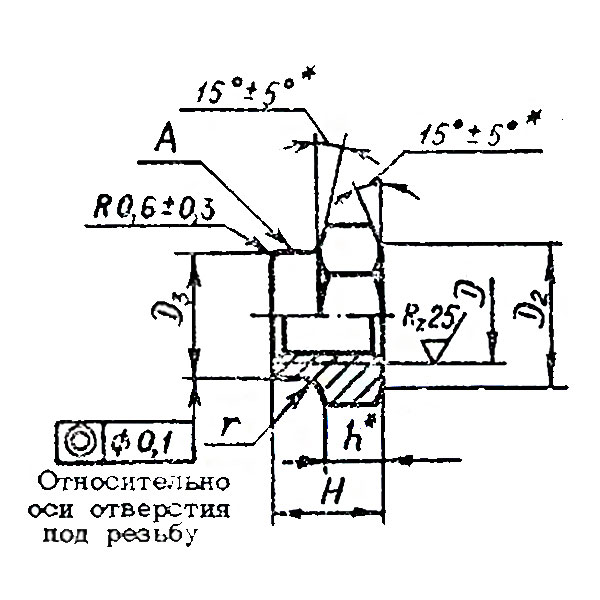 ОСТ 1 33232-89 Гайки шестигранные высокие самоконтрящиеся.