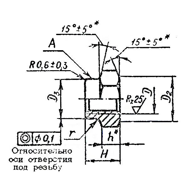 ОСТ 1 33231-89 Гайки шестигранные высокие самоконтрящиеся.
