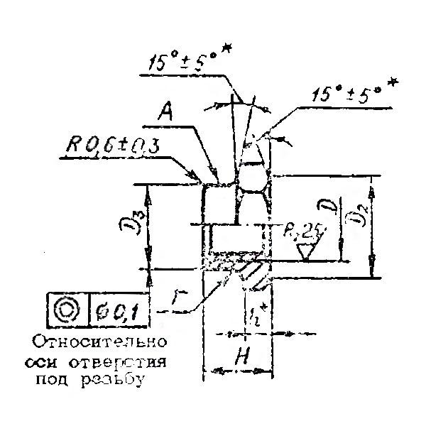 ОСТ 1 33236-89 Гайки шестигранные низкие самоконтрящиеся.