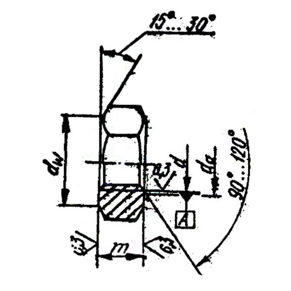 ОСТ 37.001.124-75 Гайки шестигранные.