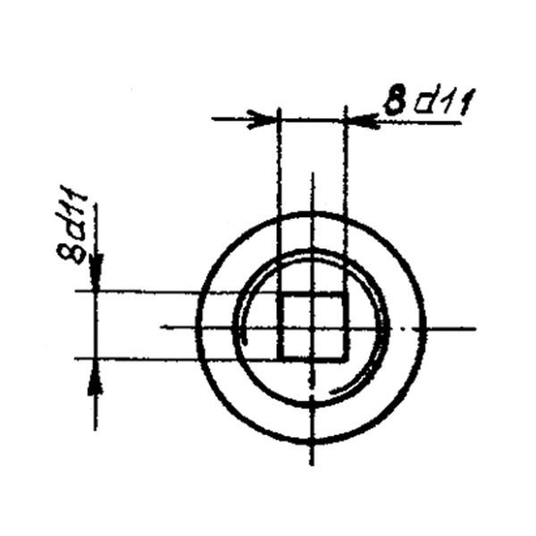 ОСТ 1 11327-74 Винт. Взамен нормали 2348А.