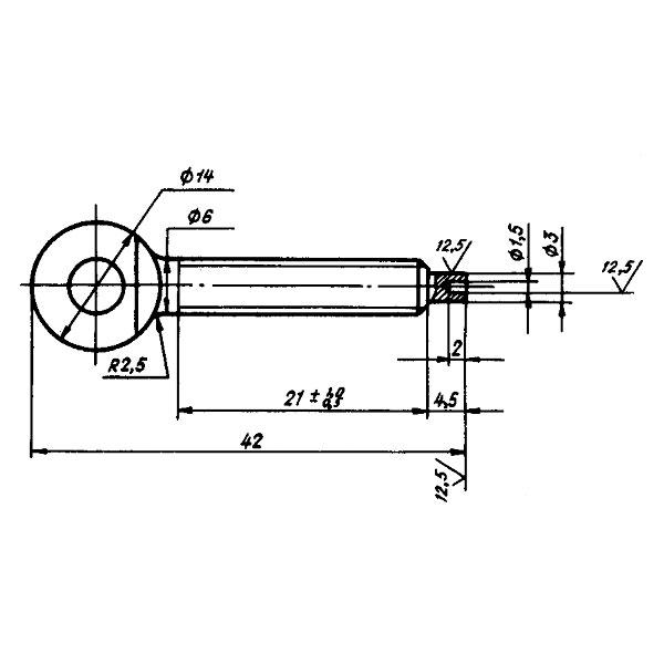 ОСТ 1 13458-78 Винт. Взамен нормали 4739А в части типоразмера 4739А-1.
