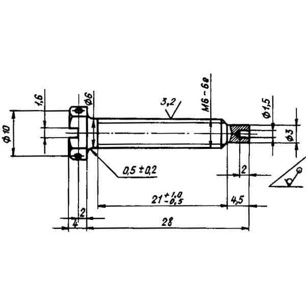 ОСТ 1 13459-78 Винт. Взамен нормали 4740А в части типоразмера 4740А-1.
