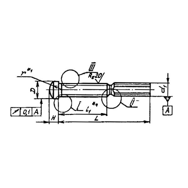 ОСТ 1 11202-73 Винты заклепок высокого сопротивления срезу. Взамен нормали 5903А.