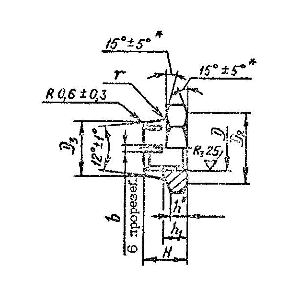 ОСТ 1 33240-89 Гайки шестигранные низкие самоконтрящиеся.