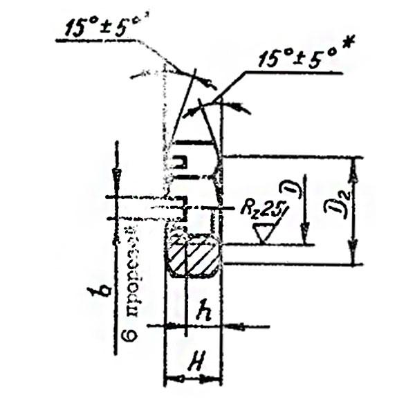 ОСТ 1 33229-89 Гайки шестигранные прорезные низкие.