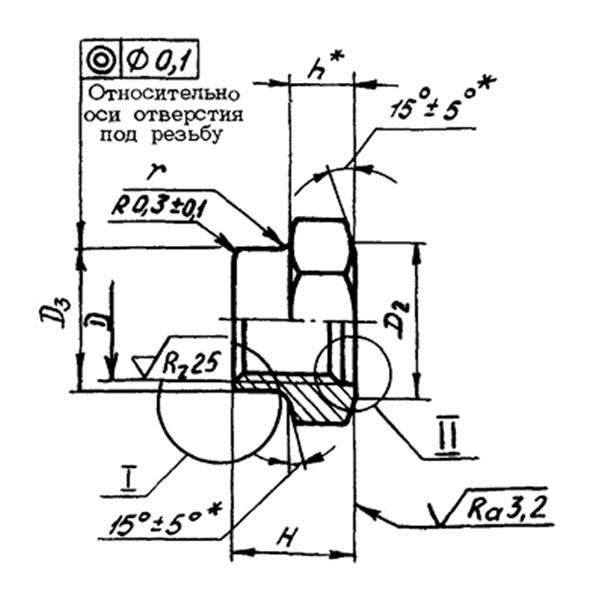 ОСТ 1 11531-74 Гайки шестигранные самоконтрящиеся из титанового сплава.