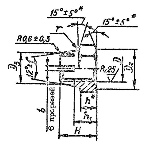 ОСТ 1 33239-89 Гайки шестигранные высокие самоконтрящиеся.