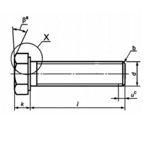 ГОСТ Р ИСО 4017-2013 Винты с шестигранной головкой. Классы точности А и В. .