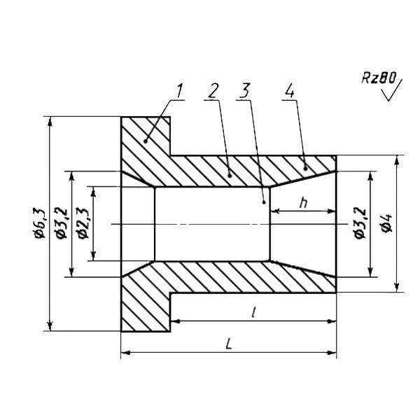 ГОСТ 26805-86 Заклепка трубчатая для односторонней клепки тонколистовых строительных металлоконструкций
