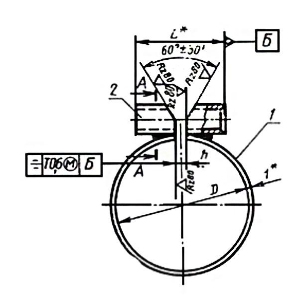 ГОСТ 17679-80 Тип 2 Хомуты облегченные для крепления трубопроводов и кабелей