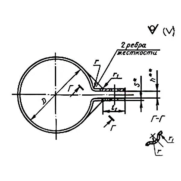 ГОСТ 17679-80 Тип 7 Хомуты облегченные для крепления трубопроводов и кабелей