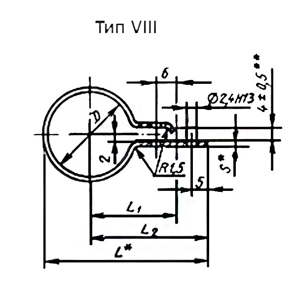 ГОСТ 17679-80 Тип 8.9 Хомуты облегченные для крепления трубопроводов и кабелей