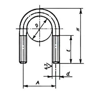 ГОСТ 24137-80 Детали крепления трубопроводов. Хомуты