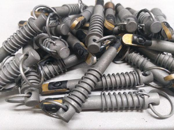 ОСТ 1 37023-80. Шпильки стопорные с пружиной. Соответствует нормали 5440А.